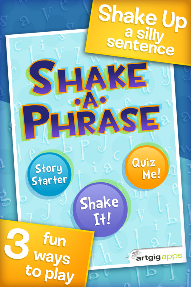 Shake-a-Phrase - Educational App