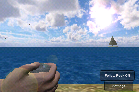 Screenshot Rock Skipper 3D